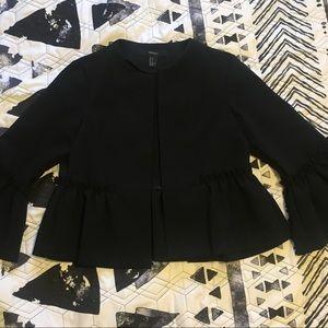 Forever 21 Open Front Blazer- Black sz S